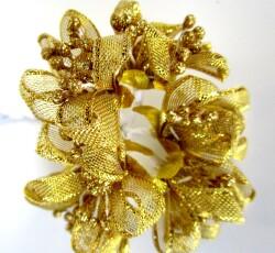 fiore satinato oro 0056