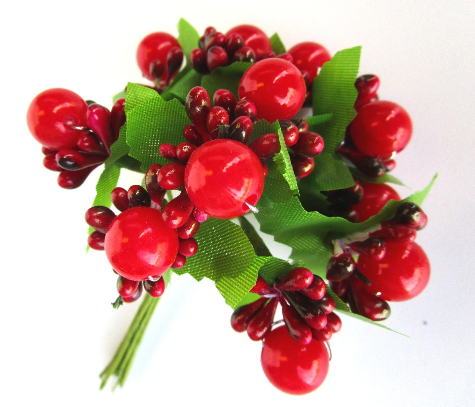 Pistilli bacche rosse 0055 qui di tutto la tua bomboniera for Bacche rosse nomi
