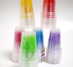 Bicchieri plastica 0121