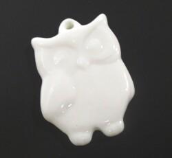 pendaglio porcellana gufo 0154